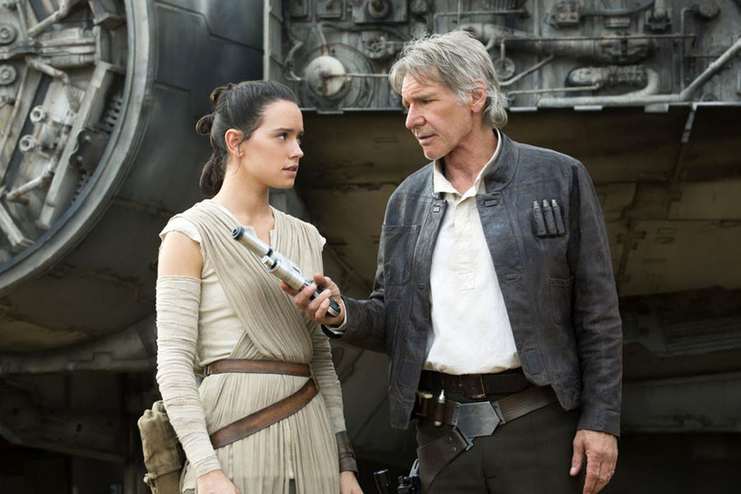 Harrison Ford- wielki powrót jako Han Solo /materiały dystrybutora