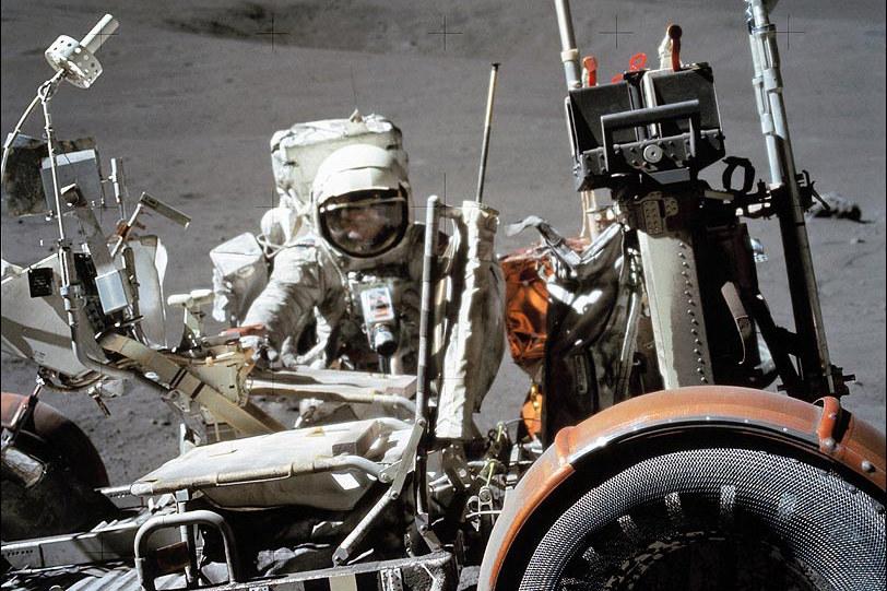 Harrison Schmitt brał udział w wyprawie Apollo 17 /NASA