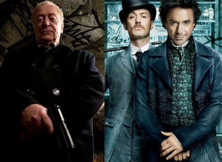 """""""Harry Brown"""" i """"Sherlock Holmes"""" trafiają w piątek na ekrany polskich kin /materiały dystrybutora"""