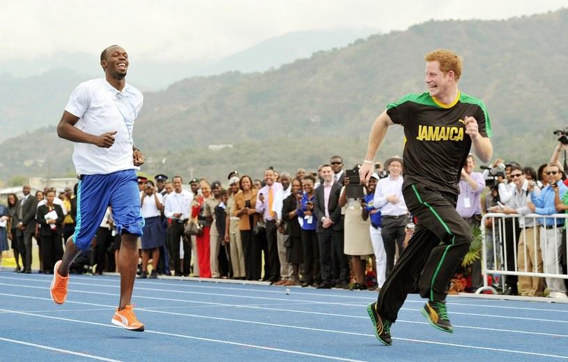 Harry i Bolt są przyjaciółmi od wielu lat /East News