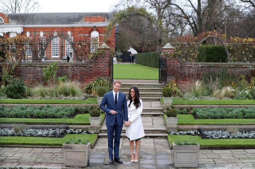 Harry i Meghan będą mieli do dyspozycji piękne ogrody w Kensington Palace /East News