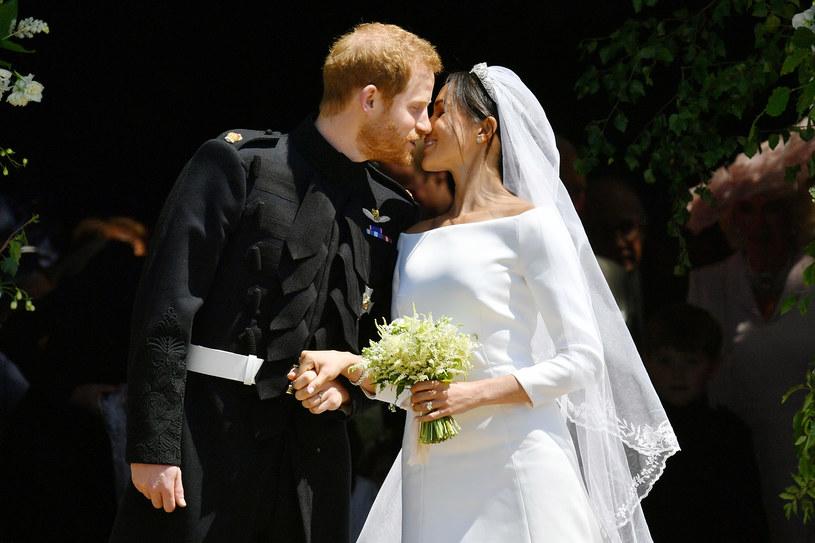 Harry i Meghan już jako małżeństwo /WPA Pool /Getty Images