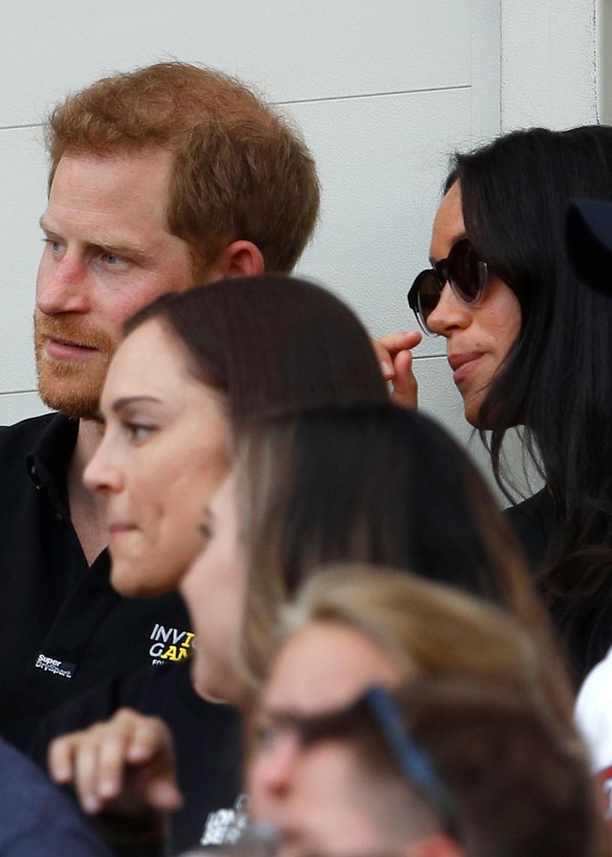 Harry i Meghan na meczu /Getty Images
