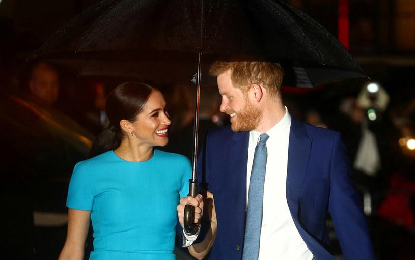 Harry i Meghan odcięli się definitywnie od królewskiej rodziny /HANNAH MCKAY /Agencja FORUM