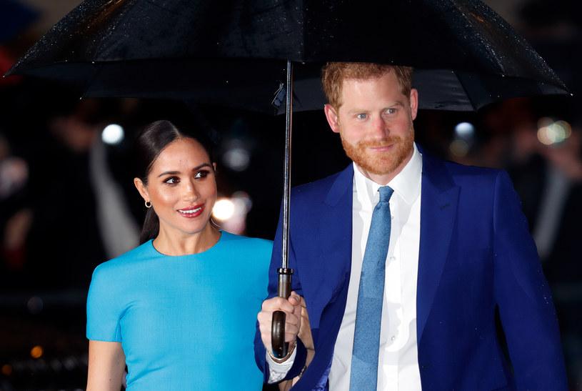 Harry i Meghan oficjalnie opuścili brytyjską rodzinę królewską /Max Mumby/Indigo /Getty Images