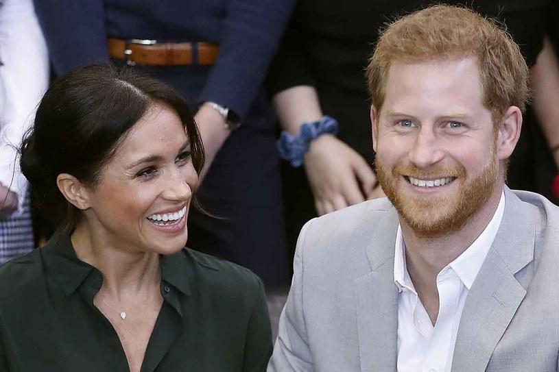 Harry i Meghan podzielili się radosną wiadomością! /AFP