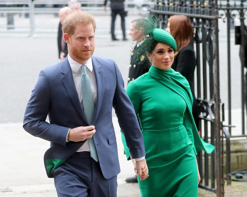 Harry i Meghan uczą się życia w nowej rzeczywistości /Chris Jackson/Getty Images /Getty Images