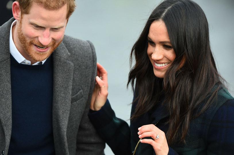 Harry i Meghan znaleźli się na liście 100 najbardziej wpływowych ludzi 2021 roku /AFP/Andy Buchanan /East News