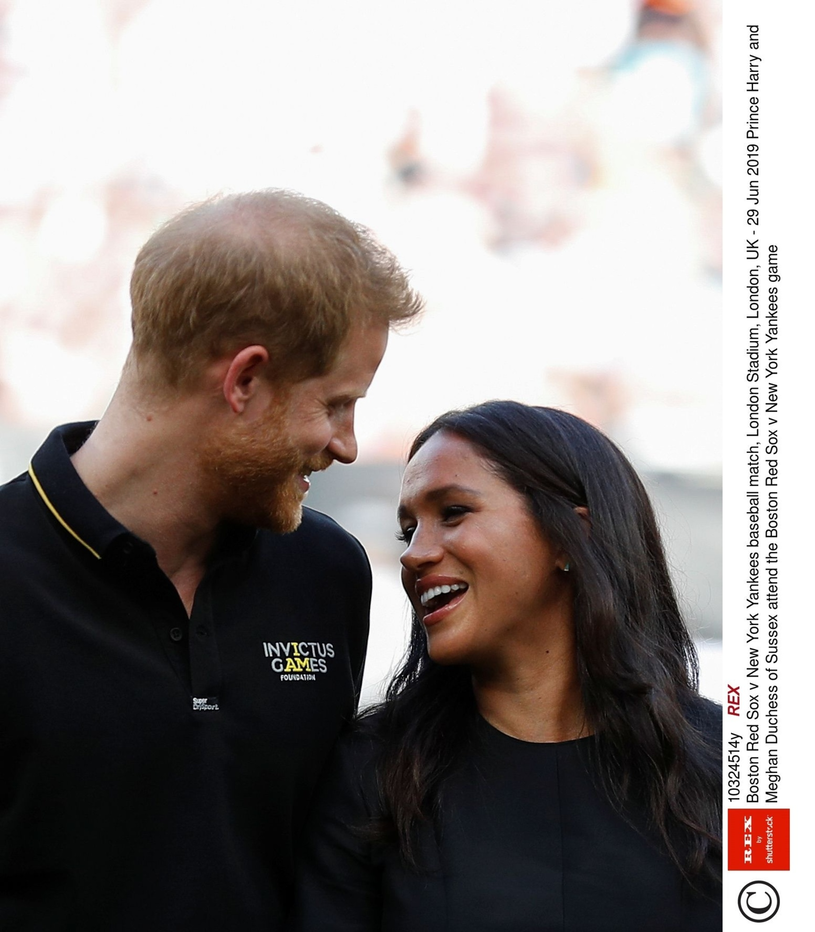 Harry i Meghan /Rex Features /East News