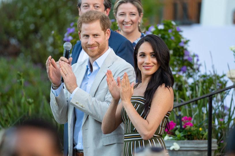 Harry i Meghan /Dominic Lipinski   /Getty Images