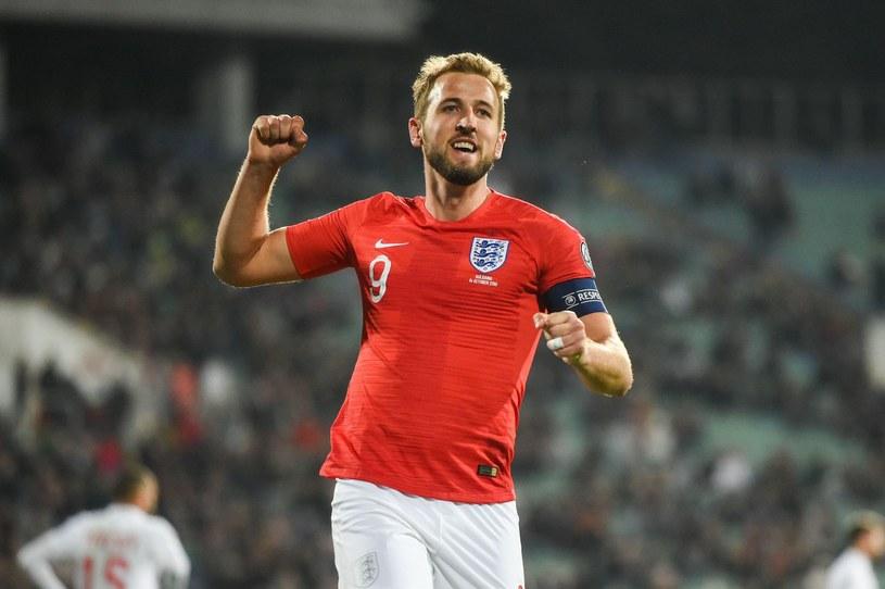Harry Kane, gwiazda reprezentacji Anglii /AFP