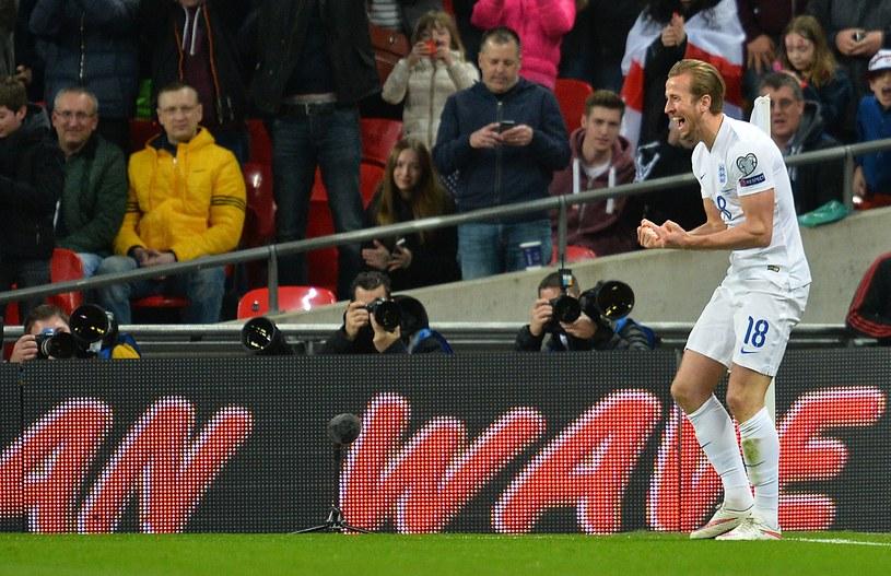 Harry Kane już strzela dla reprezentacji Anglii /AFP