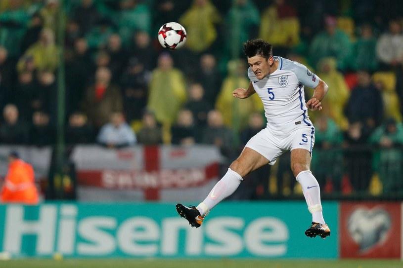 Harry Maguire w barwach reprezentacji Anglii /AFP