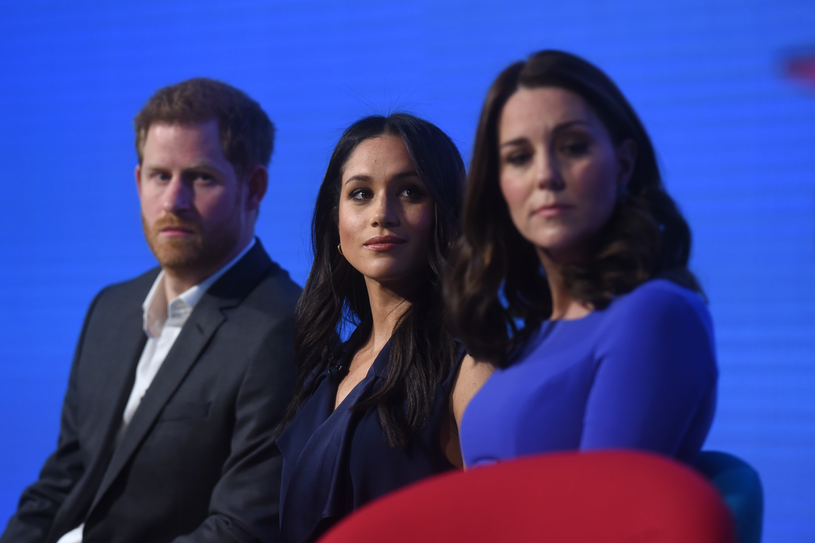 Harry, Meghan i Kate /Getty Images