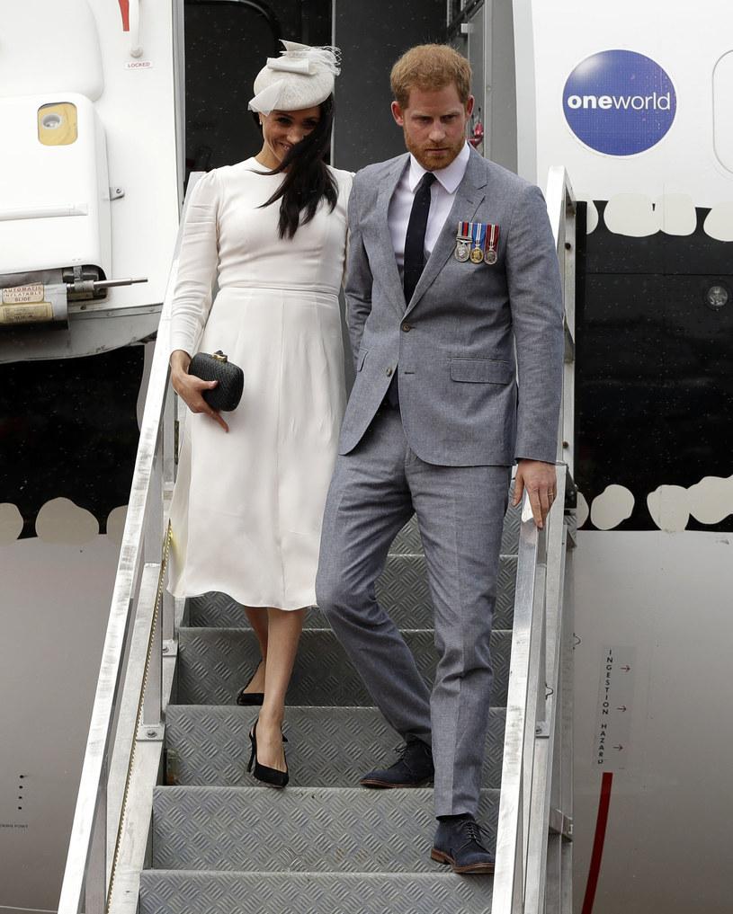 Harry pojawił się w Wielkiej Brytanii bez Meghan Markle /Kristy Wigglesworth /Getty Images