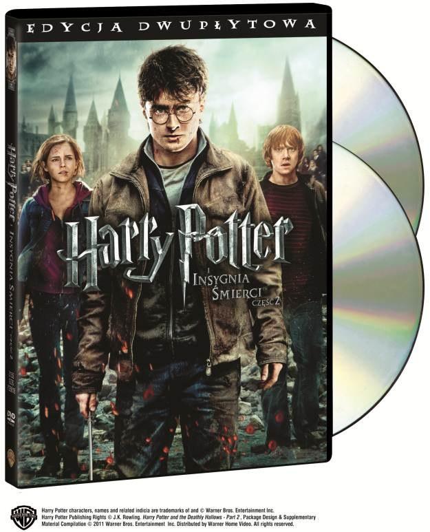 Harry Potter i Insygnia Śmierci, część 2 - wygraj swój egzemplarz DVD z filmem /INTERIA.PL