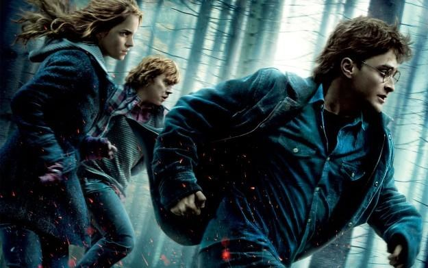 Harry Potter i Insygnia Śmierci, część I - motyw graficzny /Informacja prasowa