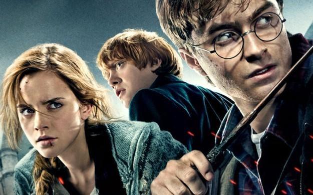 Harry Potter i Insygnia Śmierci - motyw graficzny /Informacja prasowa