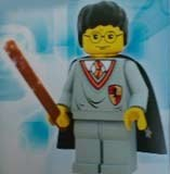 Harry Potter w zestawie klocków Lego /