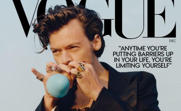 Harry Styles na okładce Vogue'a. Pozuje w sukience