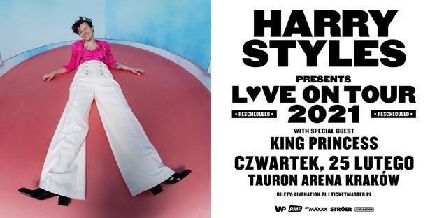 Harry Styles ogłasza światową trasę koncertową /Materiały prasowe