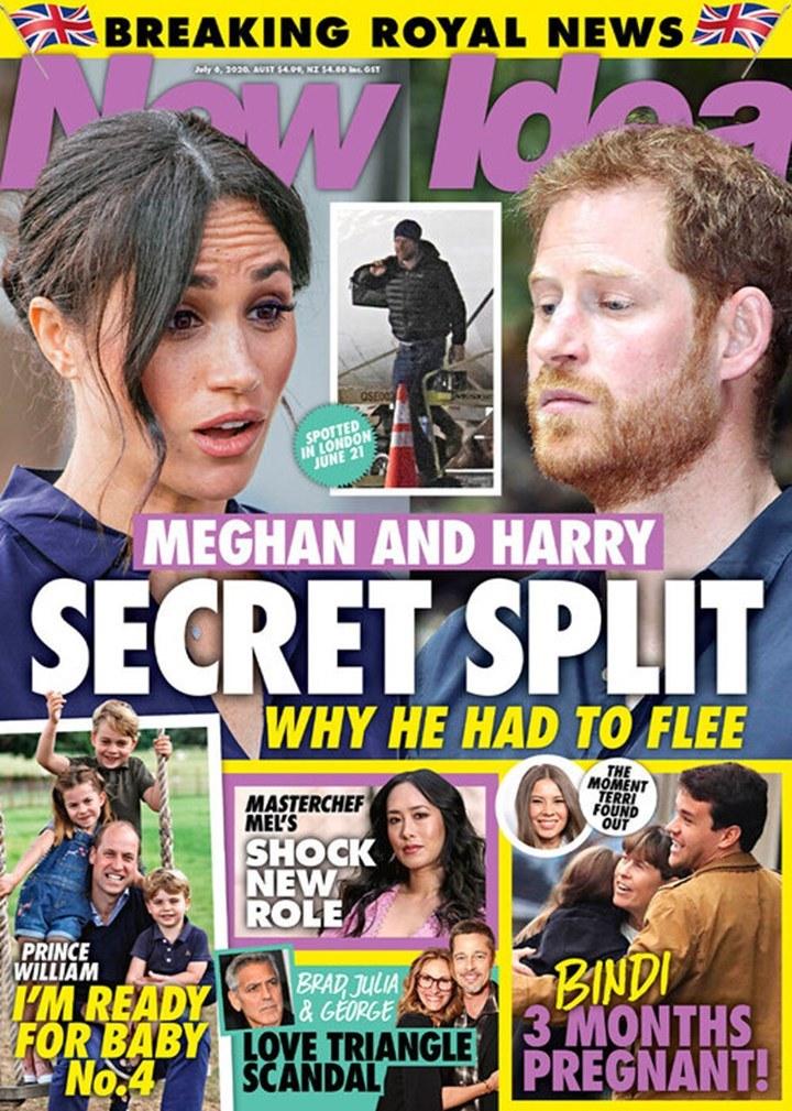 """Harry wrócił do Anglii? - tak twierdzi magazyn """"New Idea"""" /materiał zewnętrzny"""