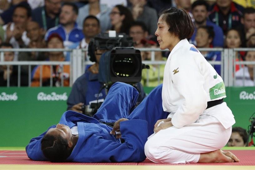 Haruka Tachimoto po finałowej walce z Yuri Alvear /AFP