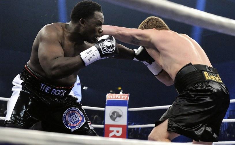 Hasim Rahman Jr w walce z Aleksandrem Powietkinem /AFP