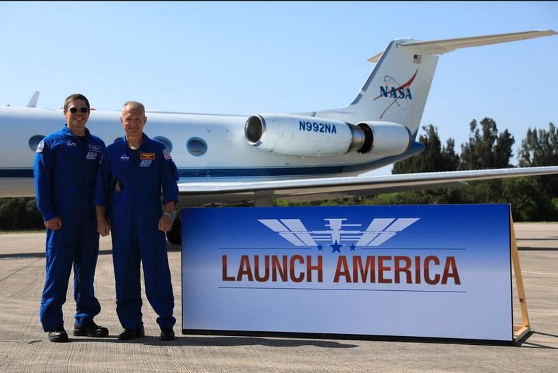 Hasło misji to Launch America /NASA