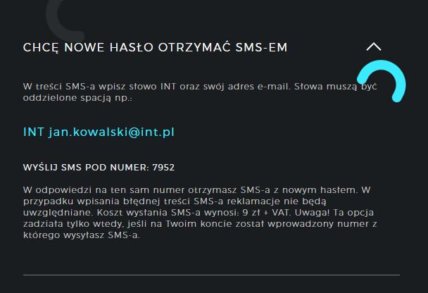 hasło /INTERIA.PL