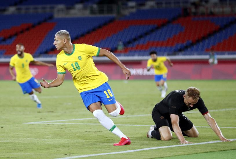 Hat-trick Richarlisona dał wygraną Brazylii nad Niemcami /Kiyoshi Ota /PAP/EPA