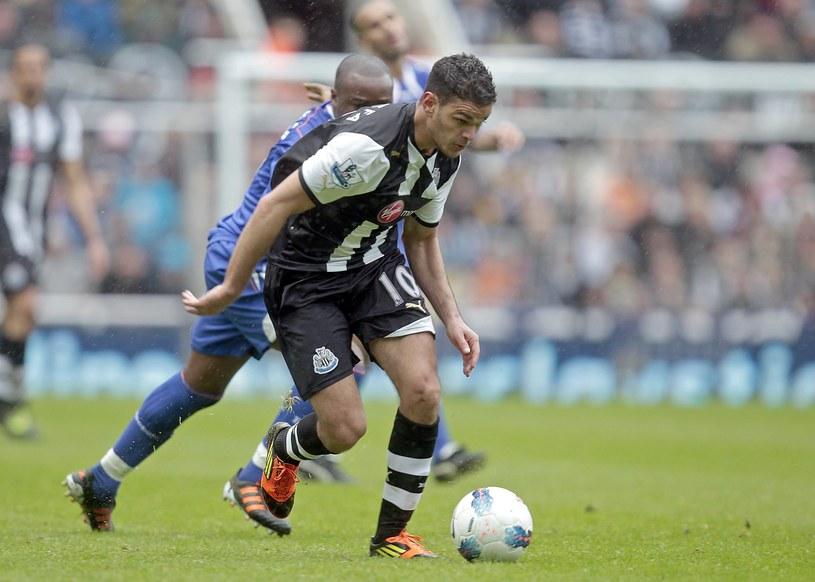 Hatem Ben Arfa w meczu z Boltonem popisał się 70-metrowym rajdem zakończonym golem /AFP