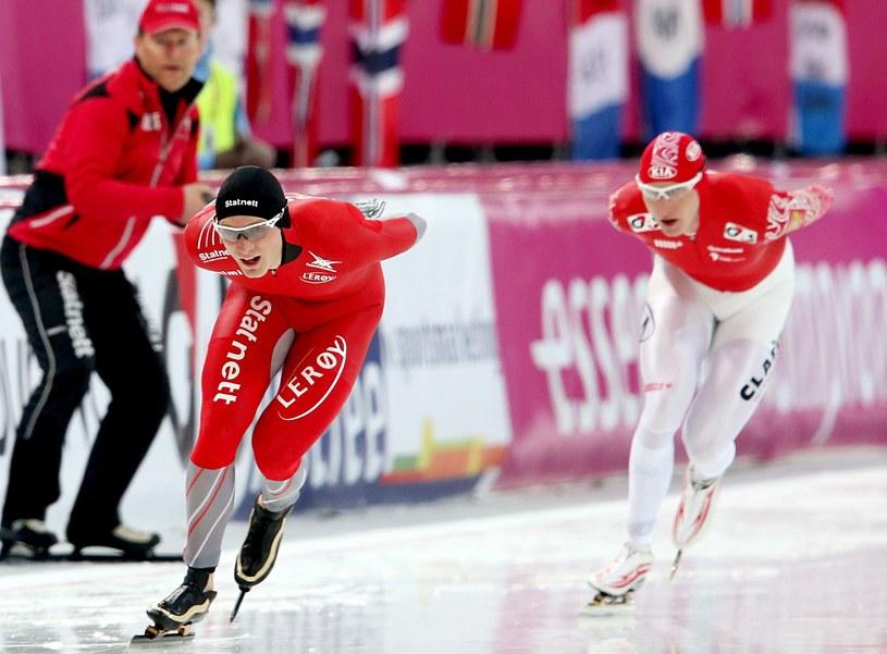 Havard Boekko (na pierwszym planie) /AFP