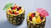 Hawajskie kubeczki z owocami