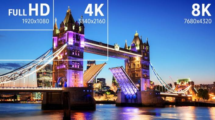 HD kontra 4K kontra 8K /materiały prasowe