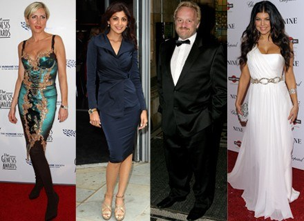 Heather Mills, Shilpa Shetty, Antony Worrall Thompson, Fergie /Getty Images/Flash Press Media