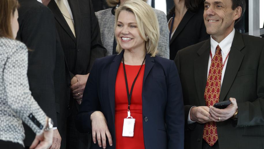 Heather Nauert /SHAWN THEW    /PAP/EPA