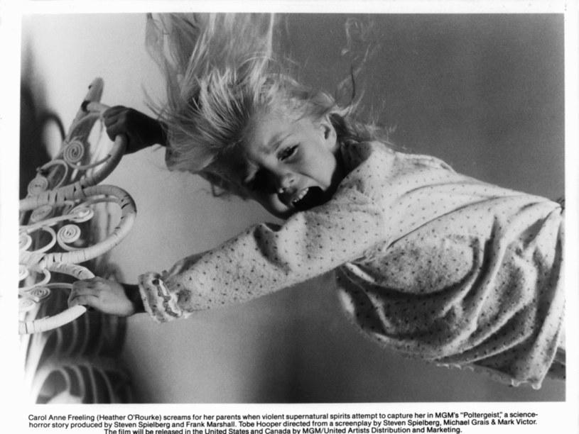 """Heather O'Rourke na planie filmu """"Duch"""" /Metro-Goldwyn-Mayer /Getty Images"""