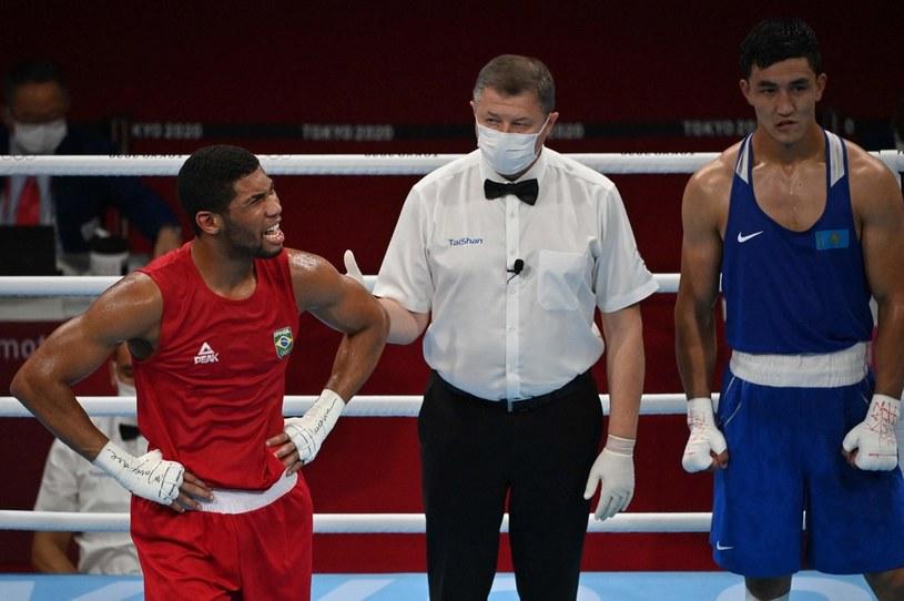 Hebert Sousa wygrywa walkę w Tokio 2020 /Luis ROBAYO /AFP