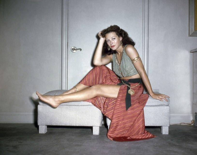 Hedy Lamarr na planie filmowym w 1951 roku /Collection Christophel / RnB /East News
