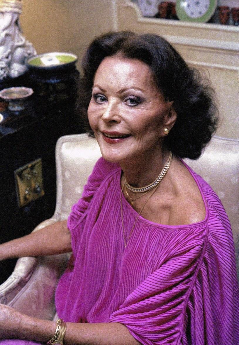 Hedy Lamarr w 1979 roku /ASSOCIATED PRESS/FOTOLINK  /East News