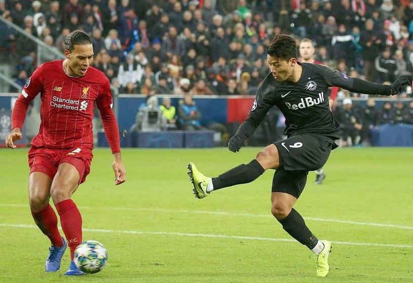 Hee-chan Hwang grał przeciwko Liverpoolowi, a z Górnikiem strzelił gola /AFP