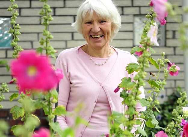 Heidemarie Schwermer bardziej ceni wewnętrzne bogactwo /AFP