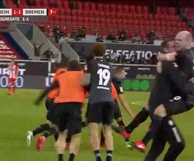 Heidenheim - Werder Brema 2-2 - skrót (ZDJĘCIA ELEVEN SPORTS). WIDEO