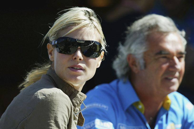 Heidi Klum i Flavio Briatore /Clive Rose /Getty Images