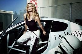 Heidi Klum i Maserati
