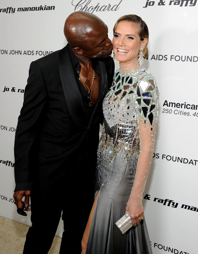 Heidi Klum i Seal byli kiedyś zgodnym małżeństwem /Larry Busacca /Getty Images