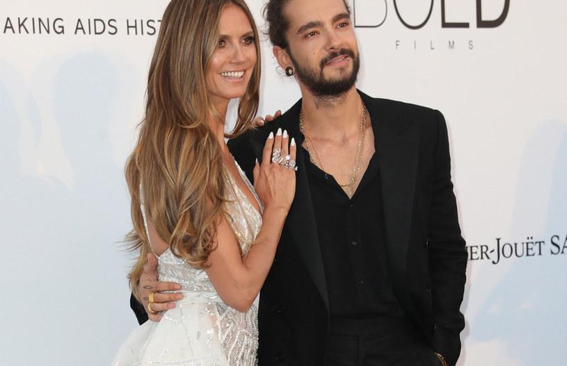 Heidi Klum i Tom Kaulitz na gali amfAR /East News