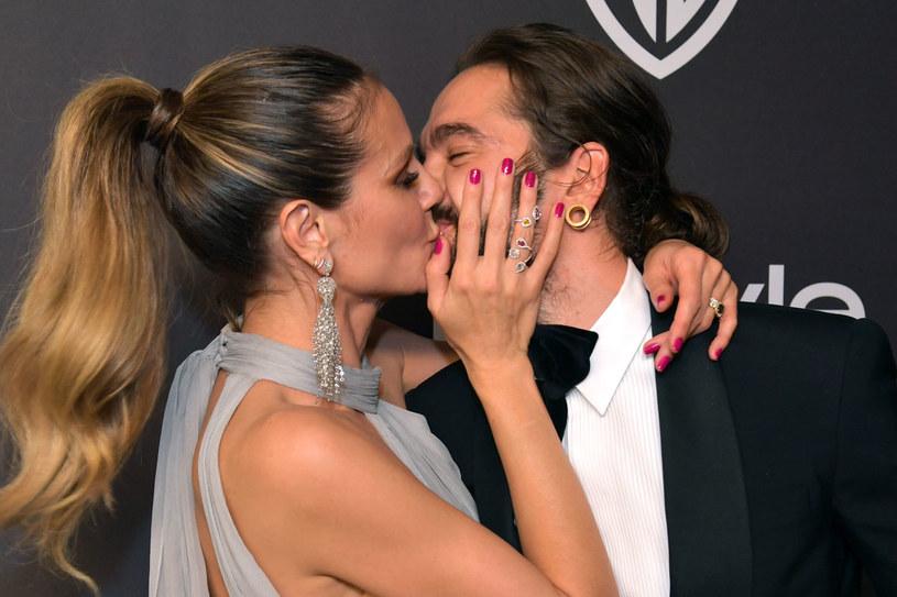 Heidi Klum i Tom Kaulitz /Getty Images