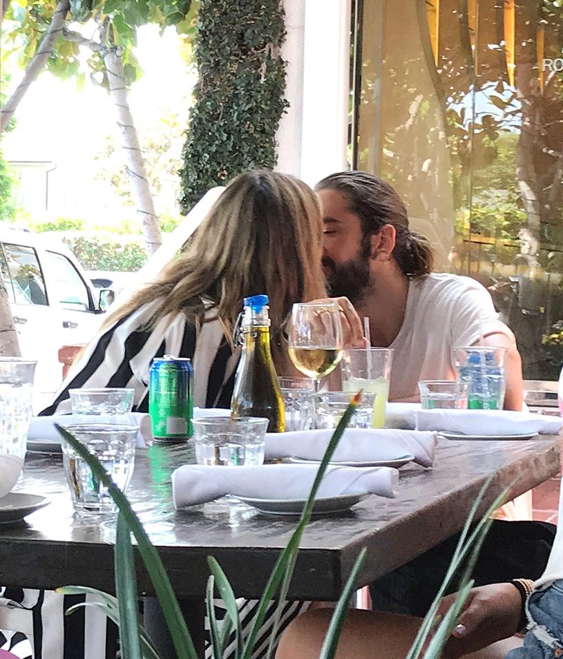 Heidi Klum i Tom Kaulitz /East News